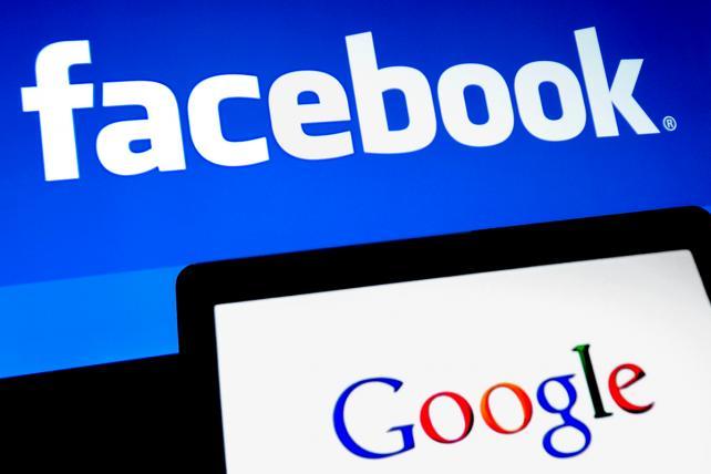 Resultado de imagen de google y facebook