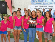 J/80 women's champions- Spanish Nationals- Puerto Sherry, Spain