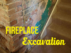 Fireplace Excavation