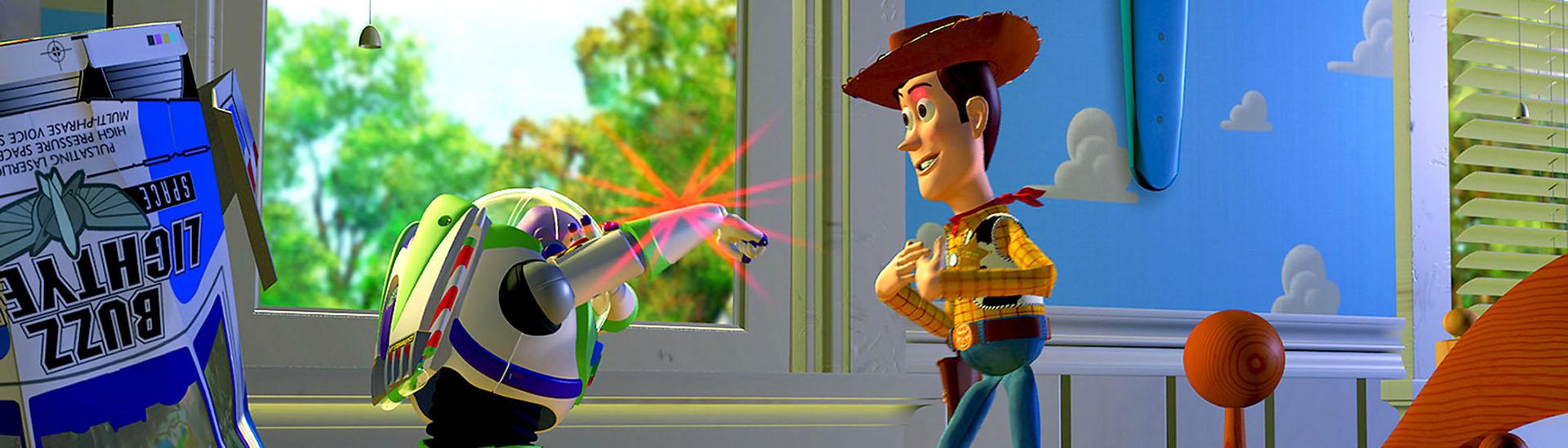 Baner filmu 'Toy Story 3D'