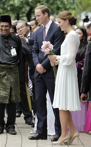 Putera William , Kate Middleton di Malaysia