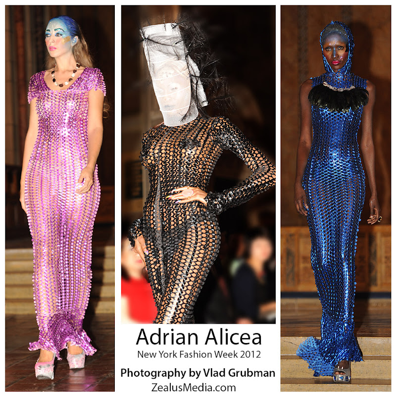 NYFW 2012 Adrian Alicea Fashion Show