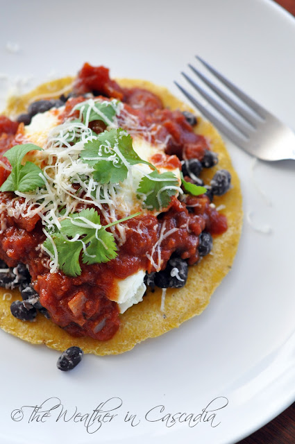 The Weather in Cascadia: huevos rancheros