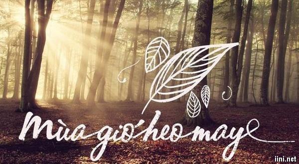thơ mùa gió heo may