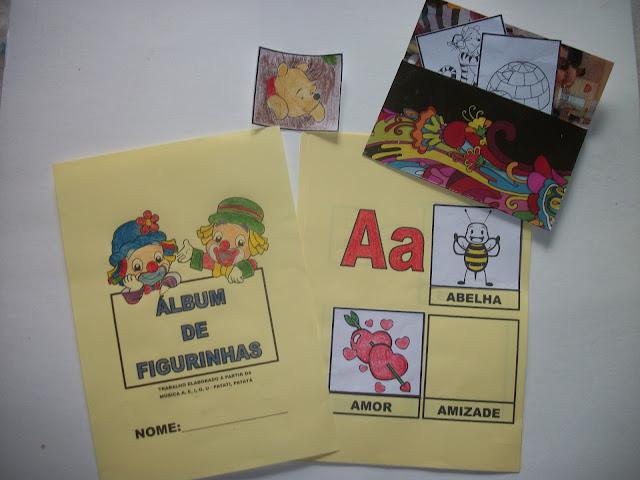 ÁLBUM DE FIGURINHAS