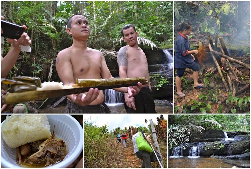 Bamboo Rice and Chicken sibu