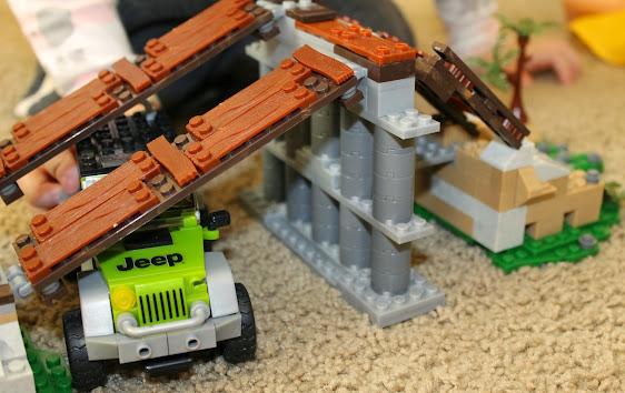 Mega Bloks American Builders Jeep Off-Road Adventures Set #AmericanBuilders