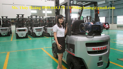 Xe nâng 2.5 tấn Nhật Bản