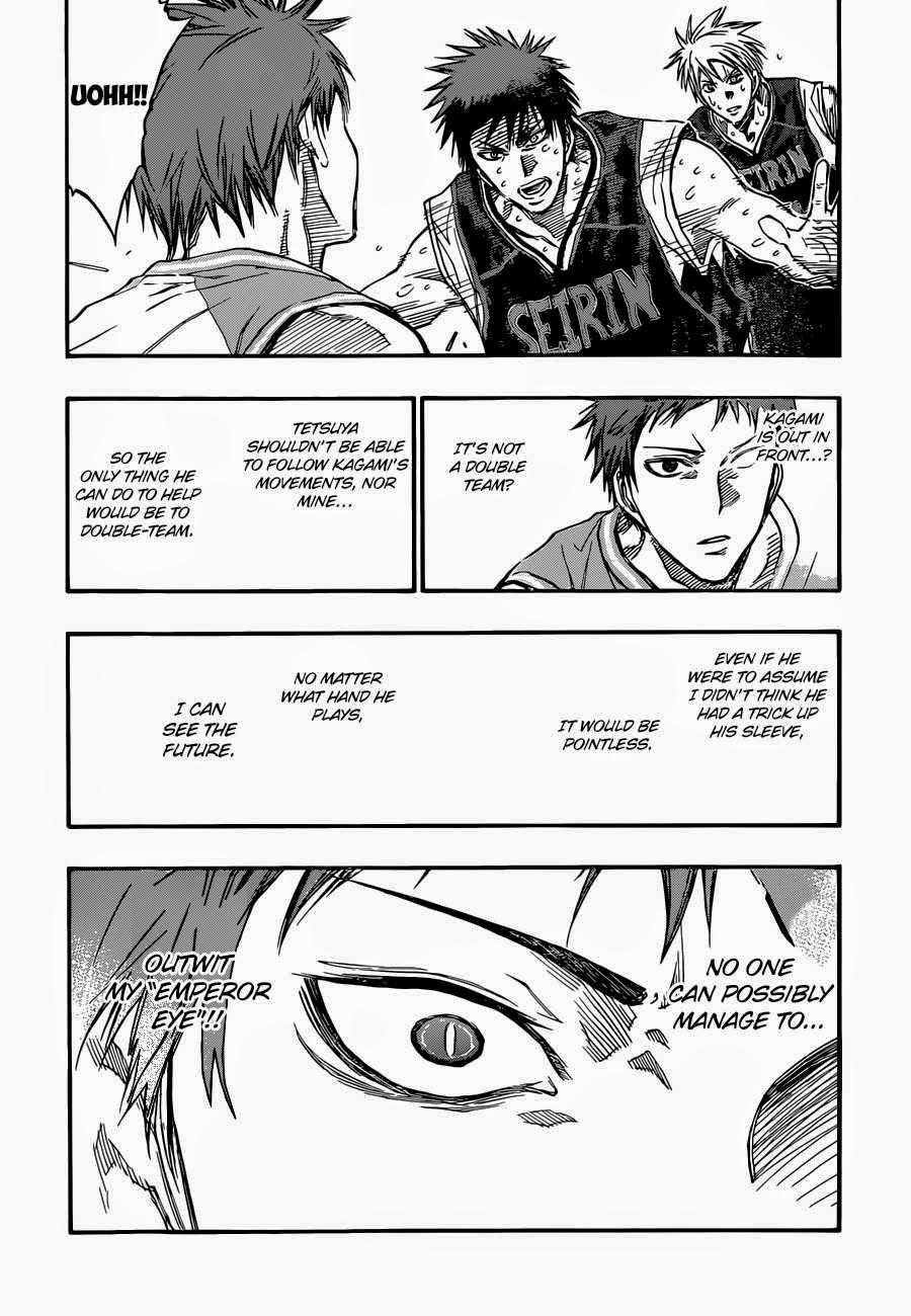 Kuroko no Basket Manga Chapter 263 - Image 10