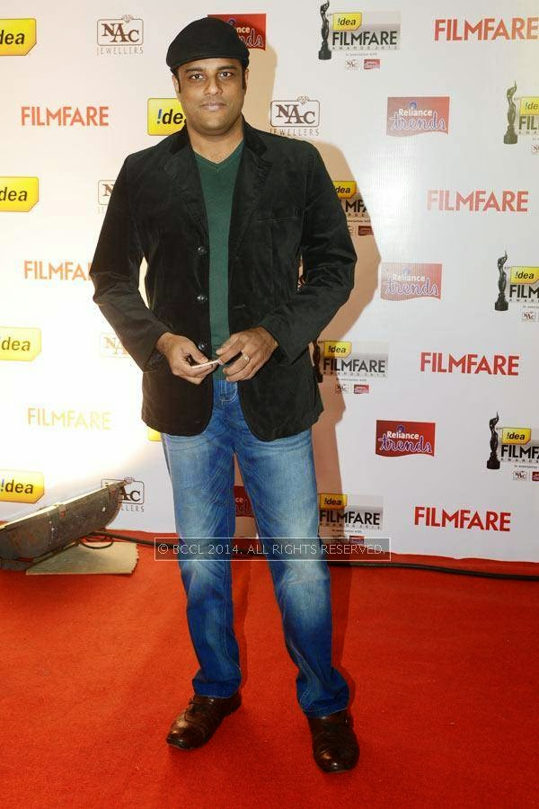 Murali Gopi attends the 61st Idea Filmfare Awards South, held at Jawaharlal Nehru Stadium in Chennai, on July 12, 2014.