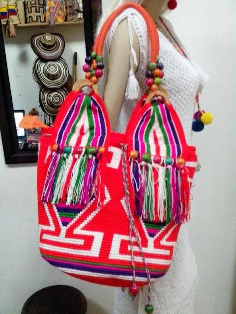 Bolso Wayuu con Cremallera Ref. 1