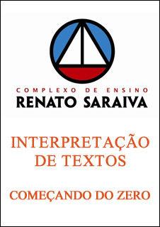 interpretacao%2520zero Download   Interpretação de Textos   Começando do Zero   Cers   Renato Saraiva