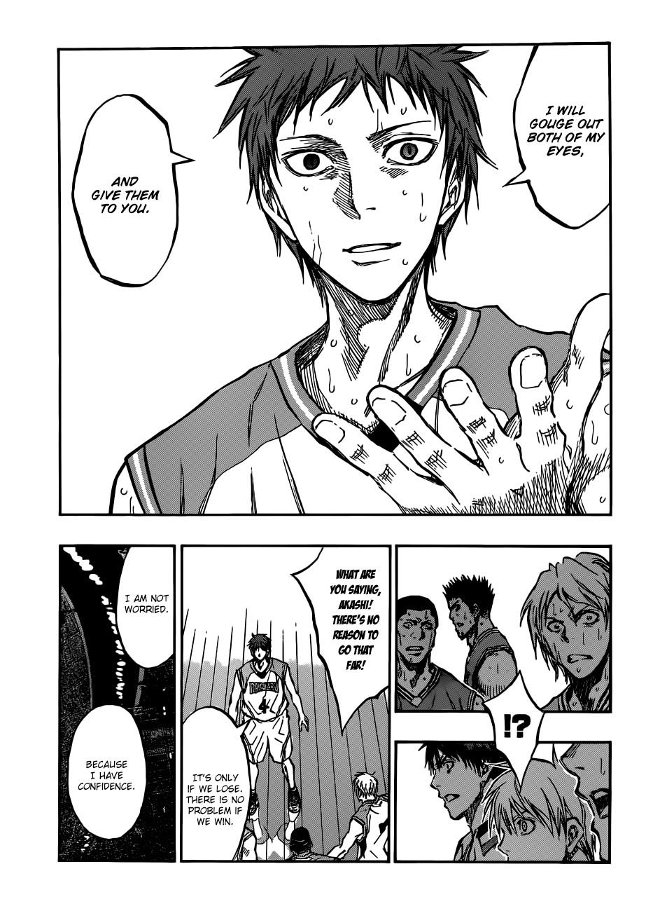 Kuroko no Basket Manga Chapter 181 - Image 15