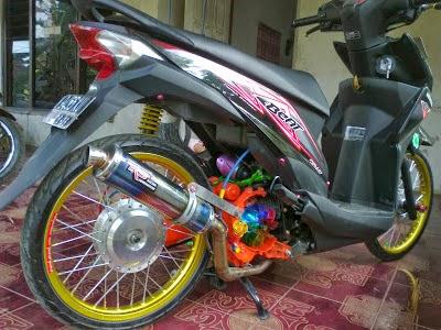 Honda Beat Fi Modifikasi Thailand