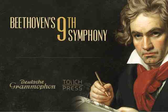 beethoven's 9th symphony The beethoven symphonies a step forward new elements in the aesthetic expression of musical content while his ninth and final work represents the apogee of the beethoven symphony the choral, as it is known.