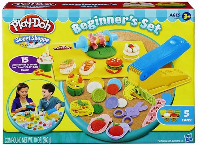 Bột nặn thức ăn đơn giản Play-Doh Beginner's set rất sạch sẽ