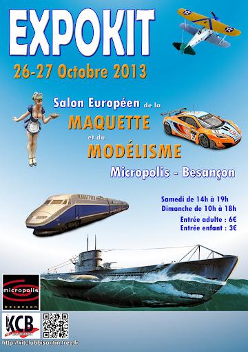 Expokit à Besançon, les 26 et 27 octobre 2013. On y est presque! Affichev10_code