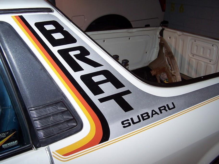 Full Color Subaru Brat Stripes 77 81