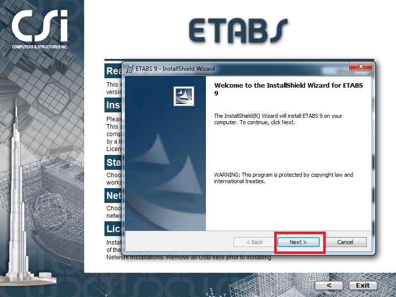 Download Etabs 9.7.4 Full crack 2013 + Hướng dẫn cài đặt + Sử dụng