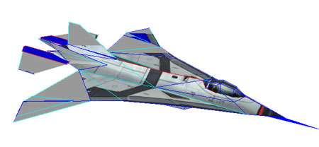 Aurora Bomber Papercraft