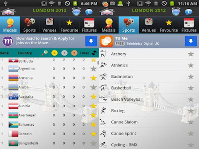 """london 2012 android olympic app"""