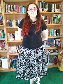 Loving wearing my new skirt