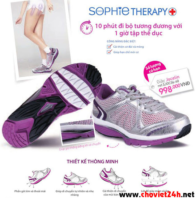 Giày thể thao nữ Sophie Jocelin – SJOC36-40