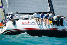 J/122 Teamwork sailing off Key West, Florida- Quantum Key West Race Week
