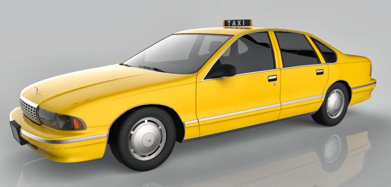 ชุดโมเดลยานพาหนะจาก Archmodels vol.55 Taxi02