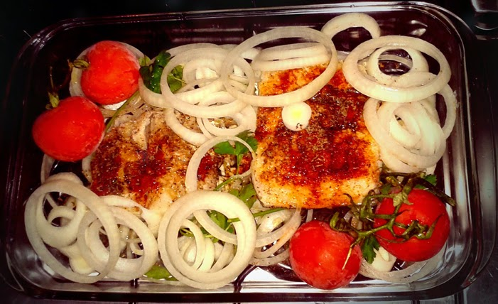 oven roasted cod :: bacalhau assado no forno