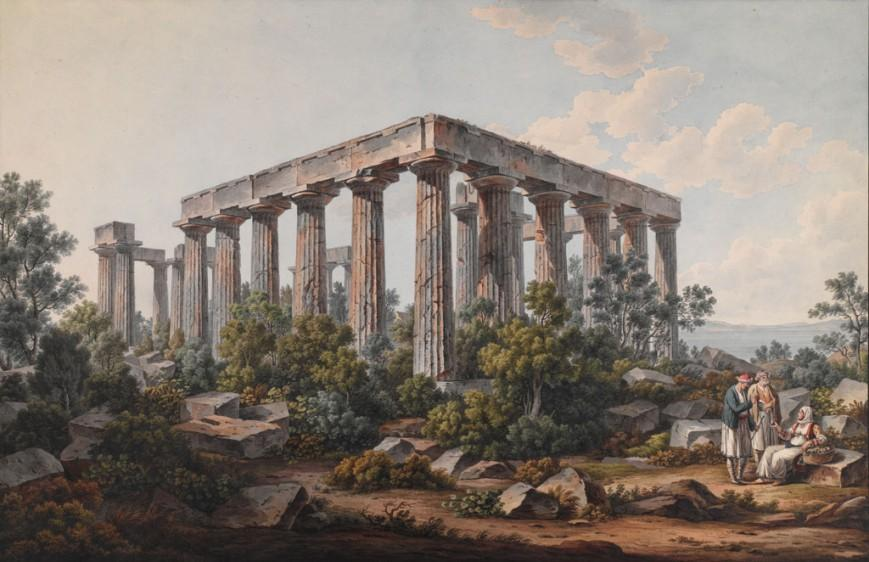 Ο Ναός της Αφαίας στην Αίγινα, μετά το 1805 / The Packard Humanities Institute