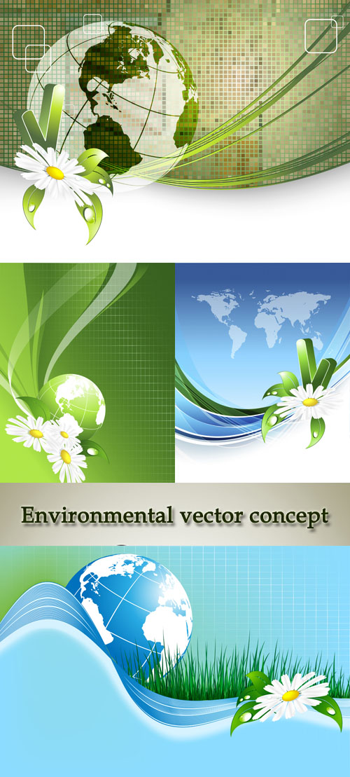 Stock: Environmental vector concept