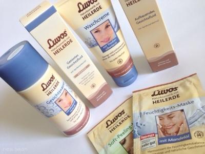 Produkte für die Gesichtspflege von Luvos