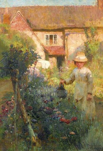 Walter Frederick Osborne - The Garden