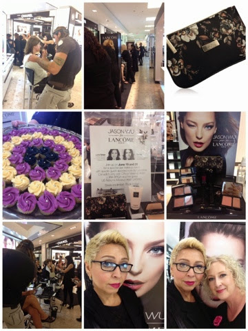 THE BAY QUEEN, LANCOME COUNTER