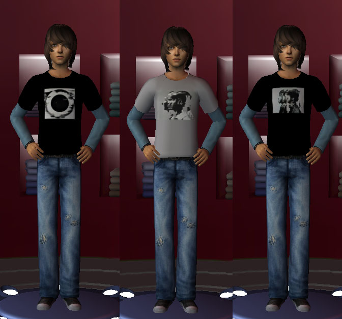Birdgurl S Sims 2 Creations Teen Male Linkin Park Outfit