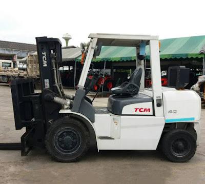 Xe nâng LPG TCM 3.5 – 5.0 tấn