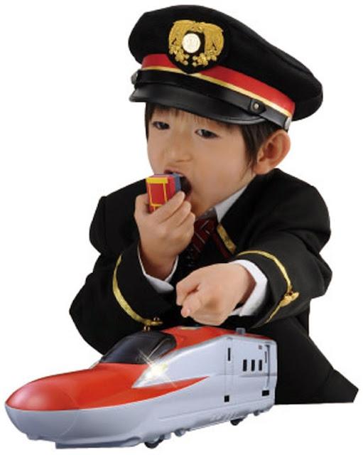 Đồ chơi Tàu hỏa BS-02 E6 Shinkansen có microphone
