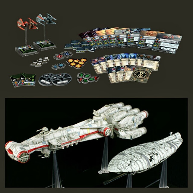 Imperial Ases, Naves grandes X-Wing