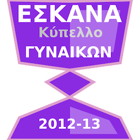ΕΣΚΑΝΑ - ΠΡΟΚΗΡΥΞΗ ΚΥΠΕΛΛΟΥ ΓΥΝΑΙΚΩΝ 2012-13