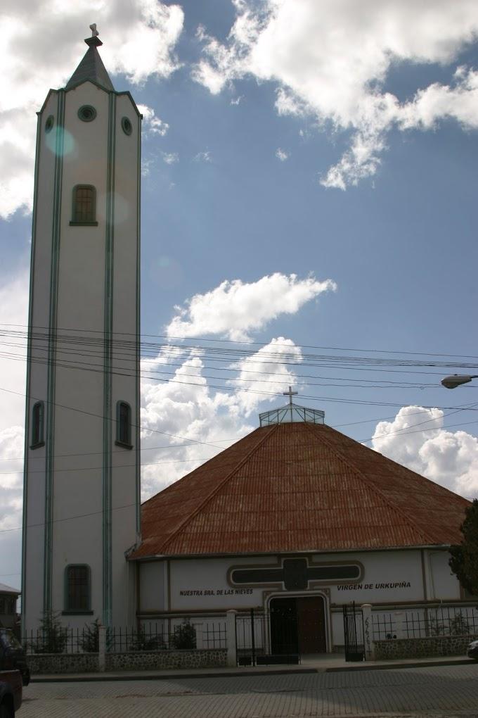 La iglesia de Villa Tunari en El Alto: Nuestra Señora de las Nieves