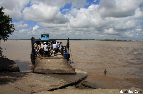 Bến phà An Thạnh 1, Cù Lao Dung đi Đại Ngãi
