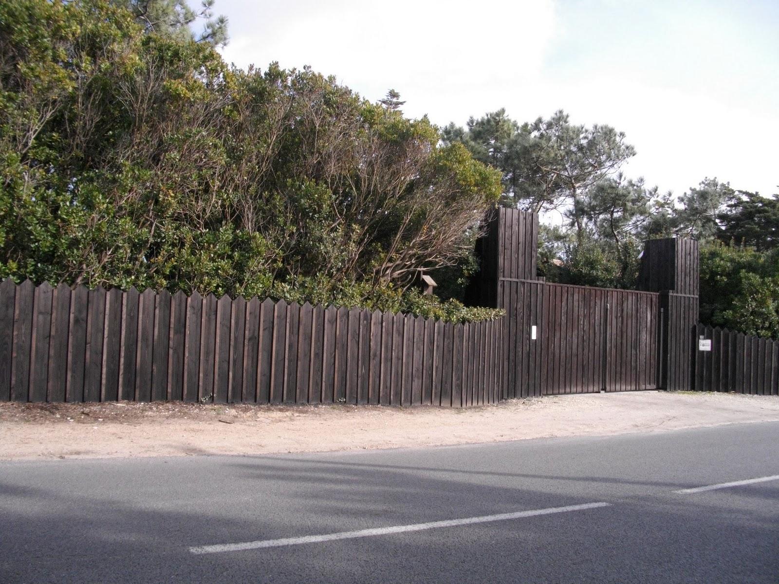 Actualit S Du Cap Ferret Murs D 39 Enceinte