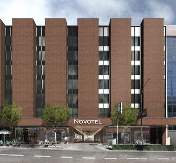 El Hotel Convención será el Novotel más grande del mundo en 2016