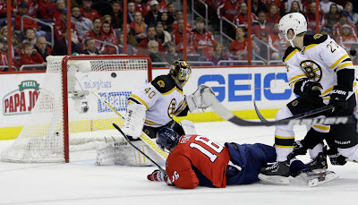 Bruins lose in overtime to Capitals