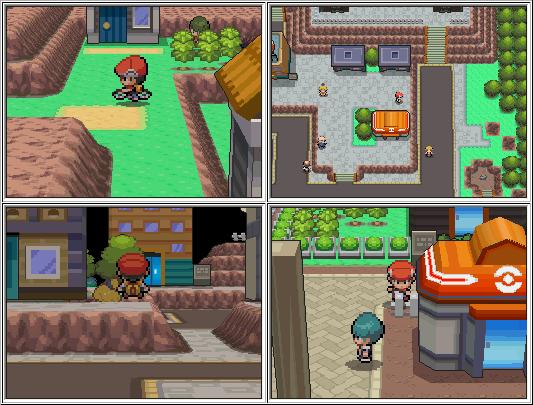 Đồ họa 3D trong Pokemon Diamond và Pokemon Pearl