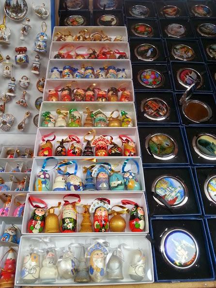 Izmailovsky Market souvenir ornaments