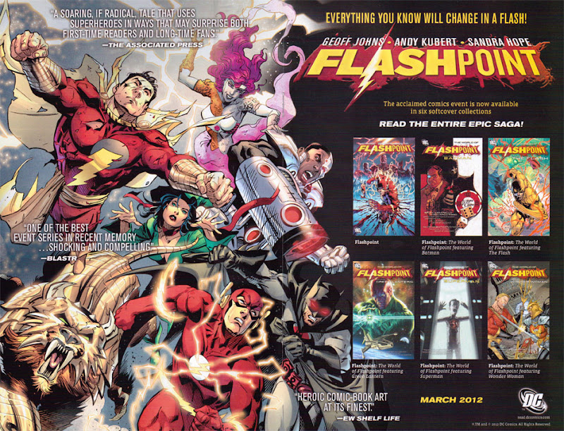 Corrected Flashpoint collections advertisement