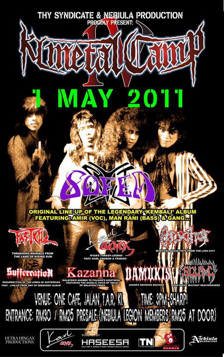 Event KL Metal Camp IV 2011