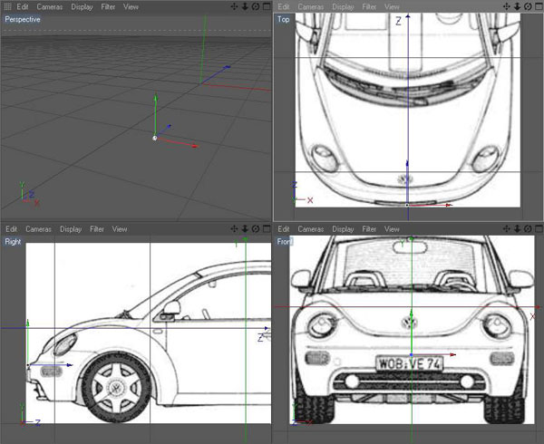All tutorials modeling a car using blueprints now our blueprints are facing in the same direction now we only need to make sure the are aligned correctly for this we will use the offset of the picture malvernweather Choice Image
